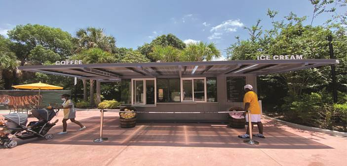 Lighthouse Solar, 3.6 kW Solar Canopy, Houston Zoo