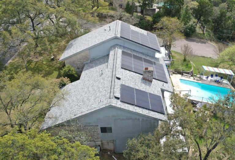 Wells Solar 16.43 kW system Austin TX