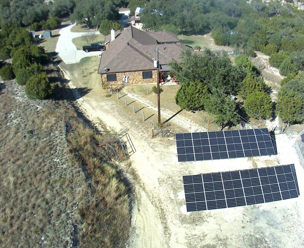 Blank PV array