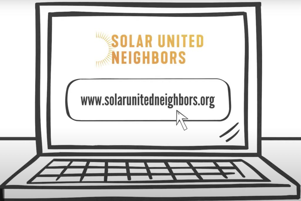 Solar United Neighbors video clip